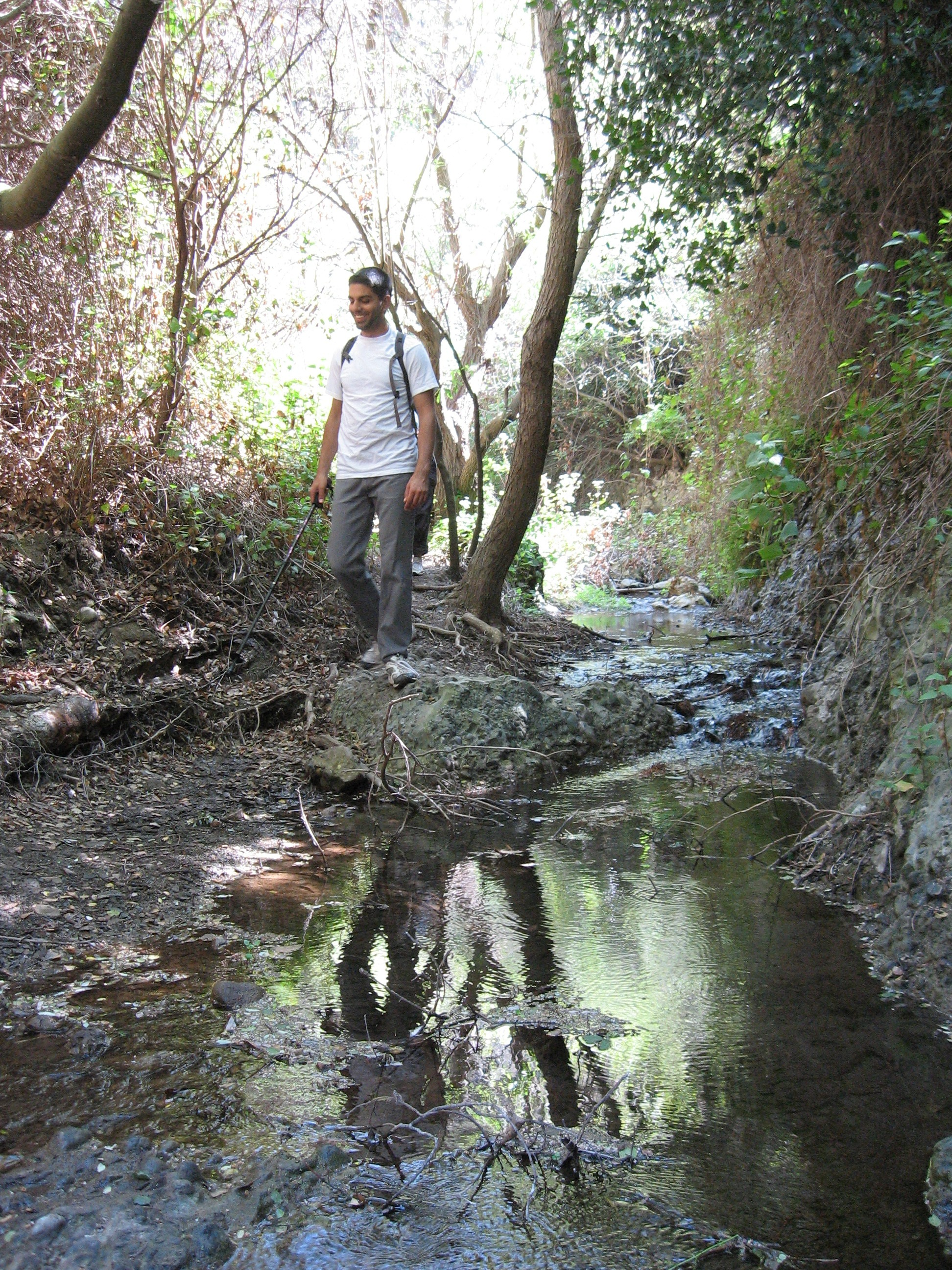 We Then Hiked Downhill Descending All The Way Down To A Creek Bed That Remainder Of Our Hike Would Follow Closely